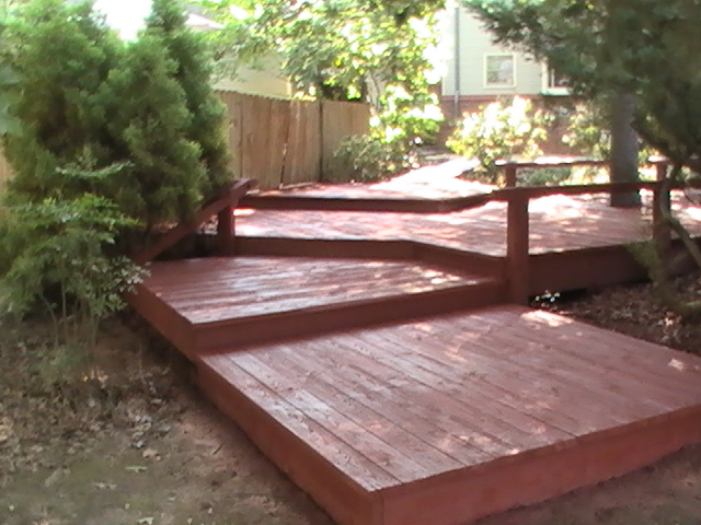 Deck Restoration - Stain & Seal 8 AFTER