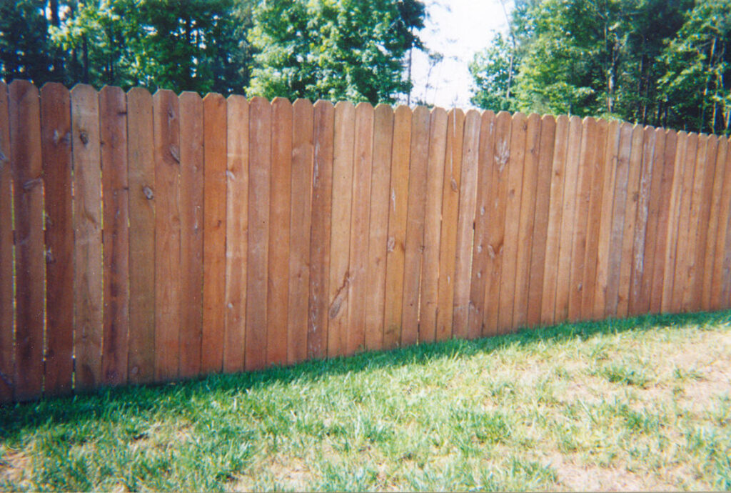 Fence - Stain & Seal 5 AFTER