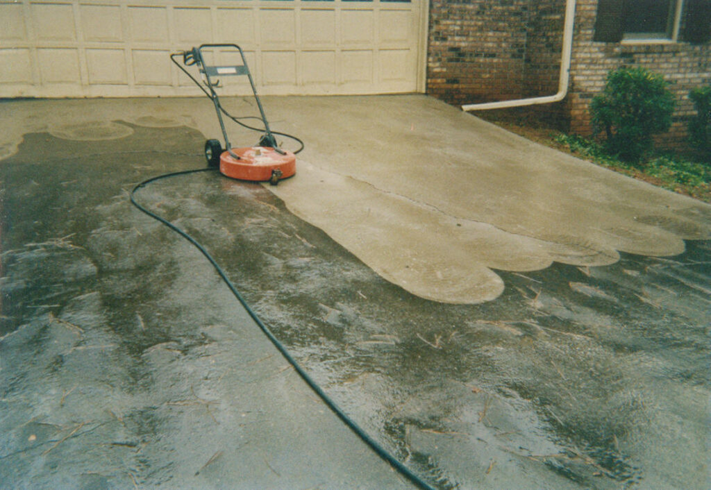 Pressure Washing - Driveway