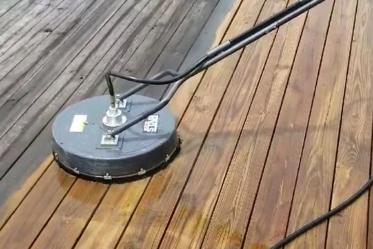 Ultimate Carpet Care - Pressure Washing Wood Decking