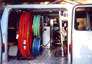 Ultimate Equipment Van Back