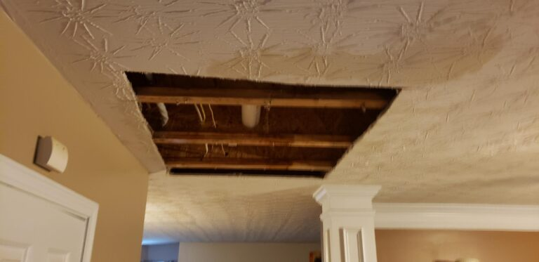 Ultimate Water Restoration Services - Ceiling