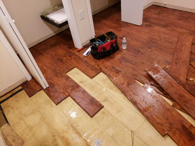 Ultimate Water Restoration Services - hardwood floor
